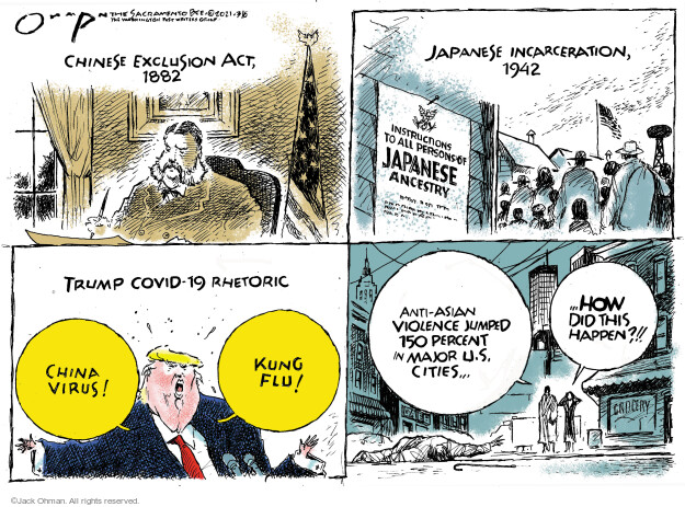 Jack Ohman  Jack Ohman's Editorial Cartoons 2021-03-06 1940s