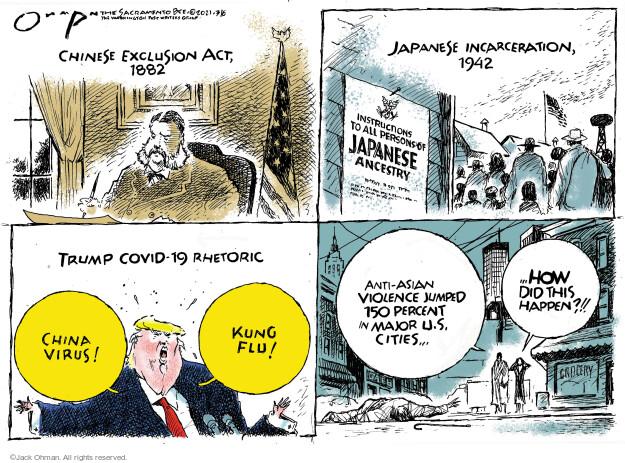Jack Ohman  Jack Ohman's Editorial Cartoons 2021-03-06 discrimination