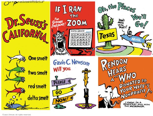 Jack Ohman  Jack Ohman's Editorial Cartoons 2021-03-07 one
