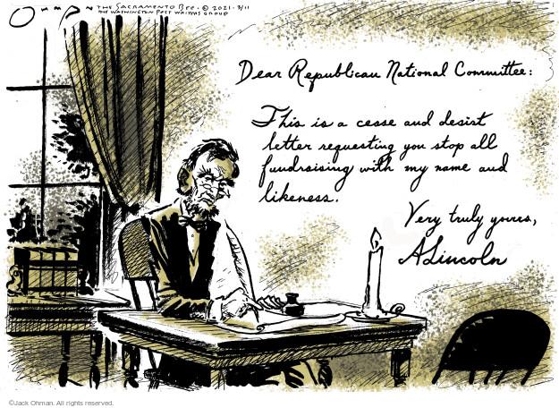 Jack Ohman  Jack Ohman's Editorial Cartoons 2021-03-11 former