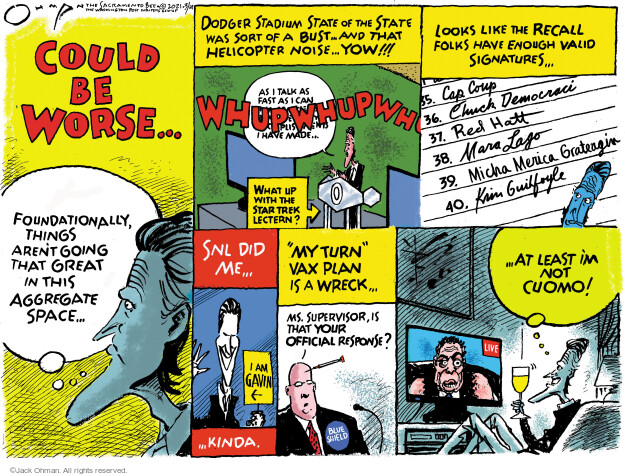 Jack Ohman  Jack Ohman's Editorial Cartoons 2021-03-14 public health