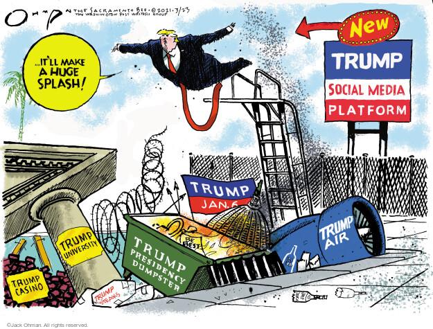 Jack Ohman  Jack Ohman's Editorial Cartoons 2021-03-23 former