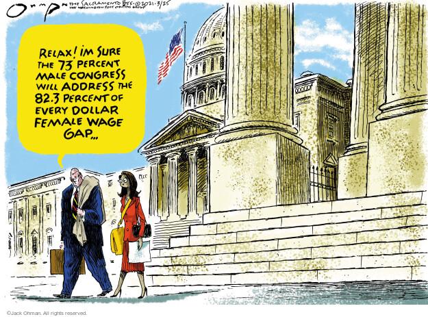 Jack Ohman  Jack Ohman's Editorial Cartoons 2021-03-25 legislation