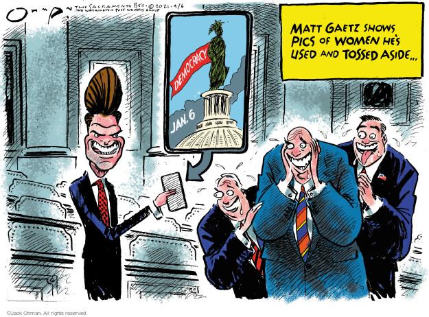 Jack Ohman  Jack Ohman's Editorial Cartoons 2021-04-06 legislative branch