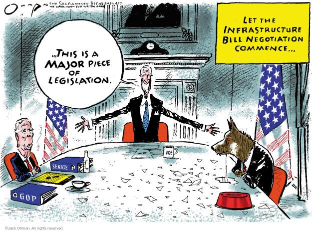 Jack Ohman  Jack Ohman's Editorial Cartoons 2021-04-07 senator