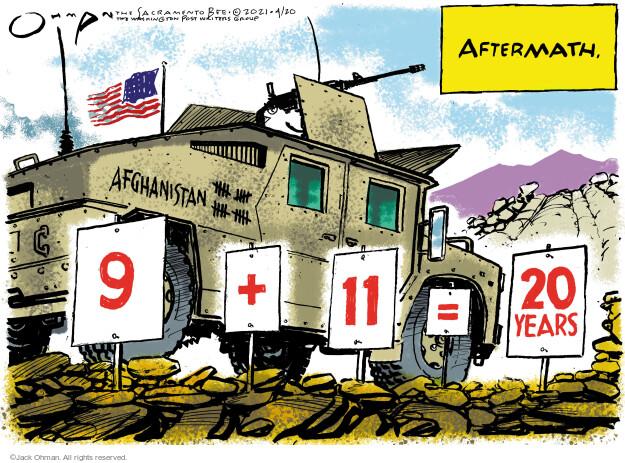 Jack Ohman  Jack Ohman's Editorial Cartoons 2021-04-20 year