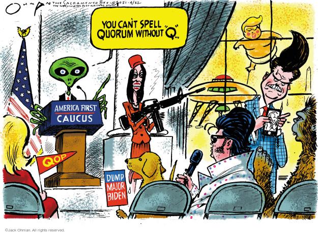 Jack Ohman  Jack Ohman's Editorial Cartoons 2021-04-22 America