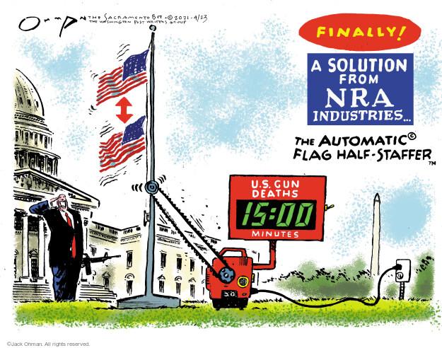 Jack Ohman  Jack Ohman's Editorial Cartoons 2021-04-23 rights