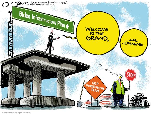 Jack Ohman  Jack Ohman's Editorial Cartoons 2021-05-25 administration