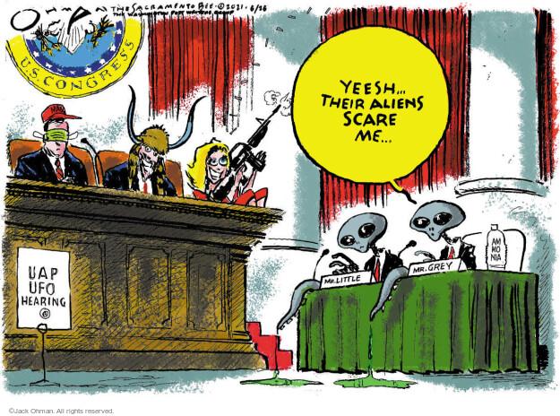 Jack Ohman  Jack Ohman's Editorial Cartoons 2021-05-26 political party