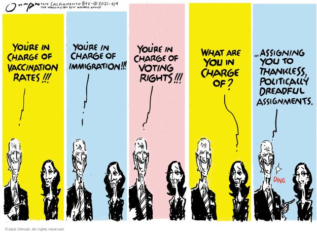 Jack Ohman  Jack Ohman's Editorial Cartoons 2021-06-04 administration