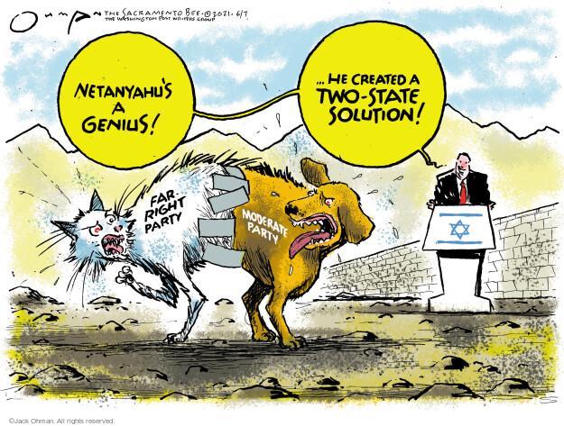 Jack Ohman  Jack Ohman's Editorial Cartoons 2021-06-07 division