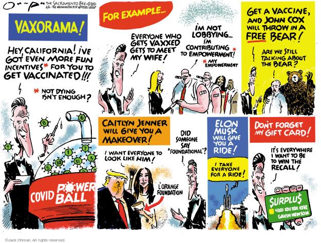 Jack Ohman  Jack Ohman's Editorial Cartoons 2021-06-06 outbreak