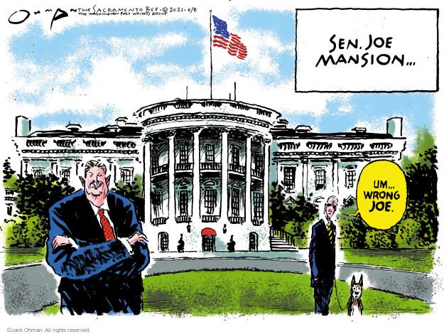 Jack Ohman  Jack Ohman's Editorial Cartoons 2021-06-08 administration