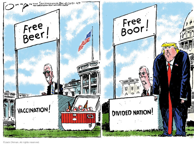 Jack Ohman  Jack Ohman's Editorial Cartoons 2021-06-09 administration