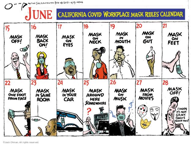 Jack Ohman  Jack Ohman's Editorial Cartoons 2021-06-13 outbreak