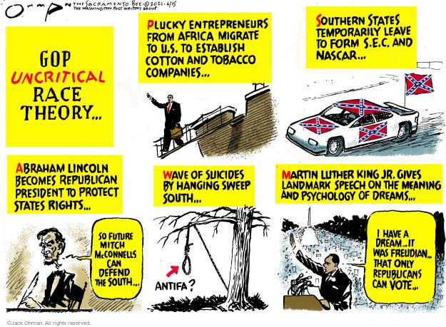 Jack Ohman  Jack Ohman's Editorial Cartoons 2021-06-15 discrimination