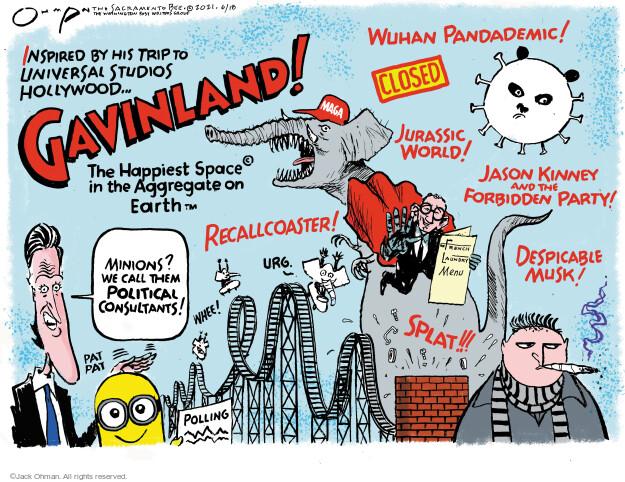 Jack Ohman  Jack Ohman's Editorial Cartoons 2021-06-20 pandemic