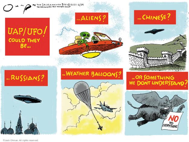 Jack Ohman  Jack Ohman's Editorial Cartoons 2021-06-24 politics