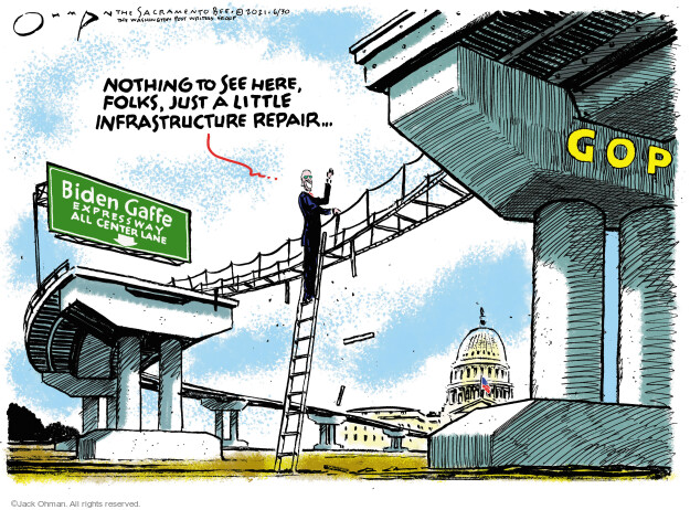 Jack Ohman  Jack Ohman's Editorial Cartoons 2021-06-30 administration