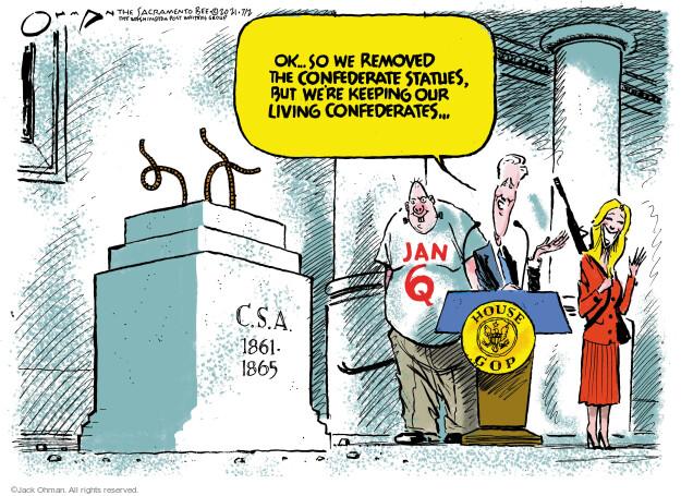 Jack Ohman  Jack Ohman's Editorial Cartoons 2021-07-02 branch