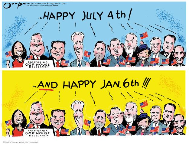 Jack Ohman  Jack Ohman's Editorial Cartoons 2021-07-04 branch