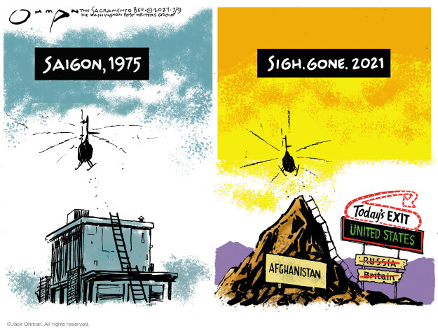 Jack Ohman  Jack Ohman's Editorial Cartoons 2021-07-09 America