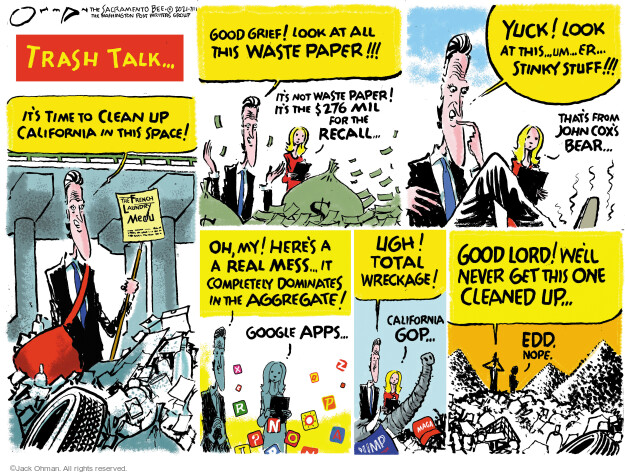 Jack Ohman  Jack Ohman's Editorial Cartoons 2021-07-11 editorial