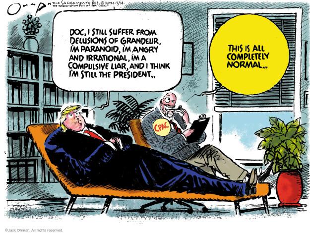 Jack Ohman  Jack Ohman's Editorial Cartoons 2021-07-14 former