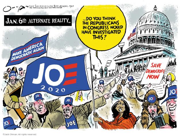 Jack Ohman  Jack Ohman's Editorial Cartoons 2021-07-27 2020 election Donald Trump