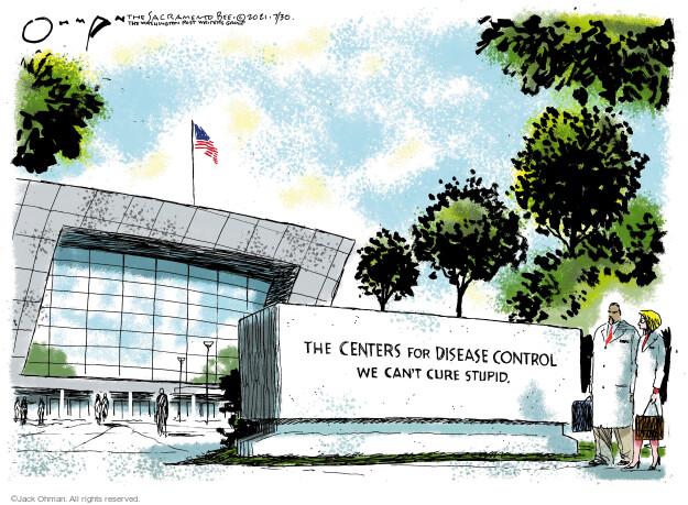 Jack Ohman  Jack Ohman's Editorial Cartoons 2021-07-30 outbreak