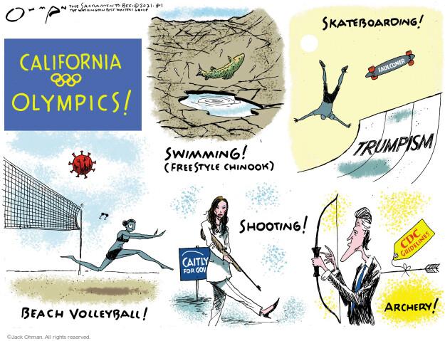 Jack Ohman  Jack Ohman's Editorial Cartoons 2021-08-01 outbreak