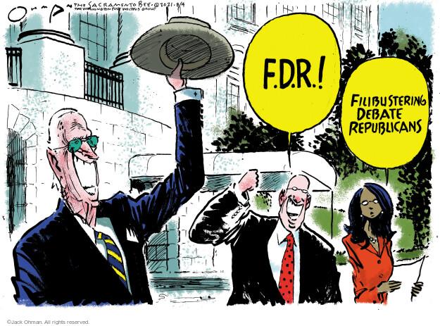 Jack Ohman  Jack Ohman's Editorial Cartoons 2021-08-04 partisan politics