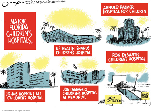 Jack Ohman  Jack Ohman's Editorial Cartoons 2021-08-12 outbreak
