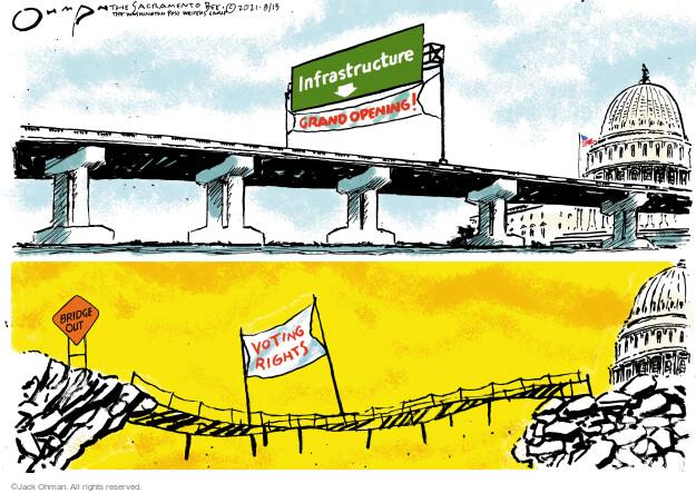 Jack Ohman  Jack Ohman's Editorial Cartoons 2021-08-13 branch