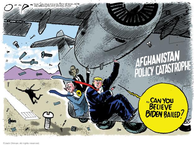 Jack Ohman  Jack Ohman's Editorial Cartoons 2021-08-18 former
