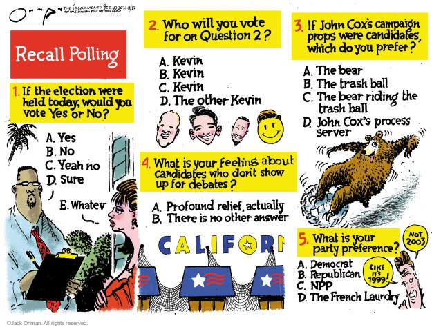 Jack Ohman  Jack Ohman's Editorial Cartoons 2021-08-22 voter