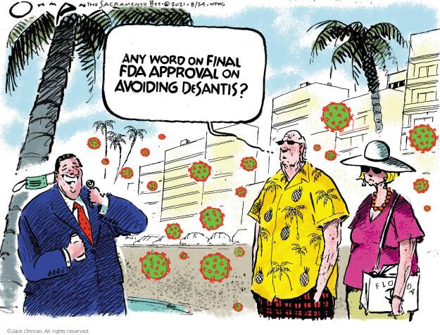 Jack Ohman  Jack Ohman's Editorial Cartoons 2021-08-24 outbreak