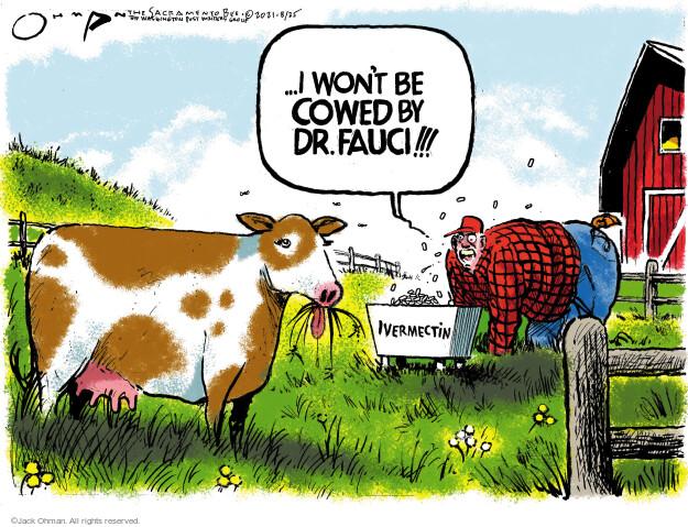 Jack Ohman  Jack Ohman's Editorial Cartoons 2021-08-25 outbreak