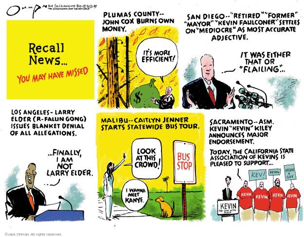 Jack Ohman  Jack Ohman's Editorial Cartoons 2021-09-05 former
