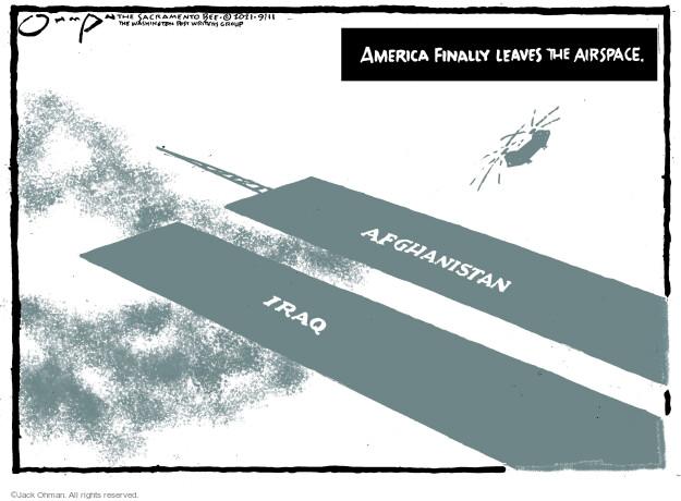 Jack Ohman  Jack Ohman's Editorial Cartoons 2021-09-11 2001
