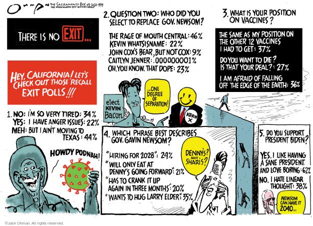 Jack Ohman  Jack Ohman's Editorial Cartoons 2021-09-19 vaccine