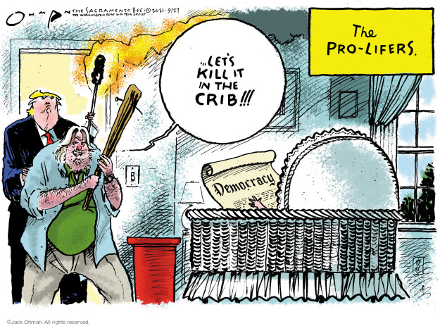Jack Ohman  Jack Ohman's Editorial Cartoons 2021-09-27 former