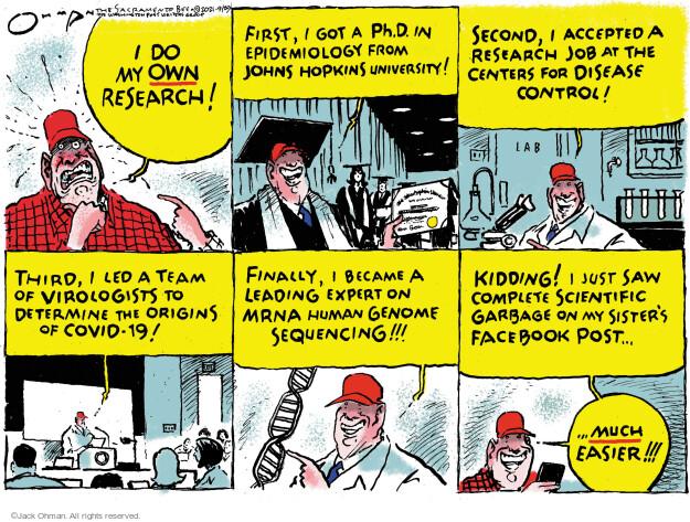Jack Ohman  Jack Ohman's Editorial Cartoons 2021-09-29 outbreak
