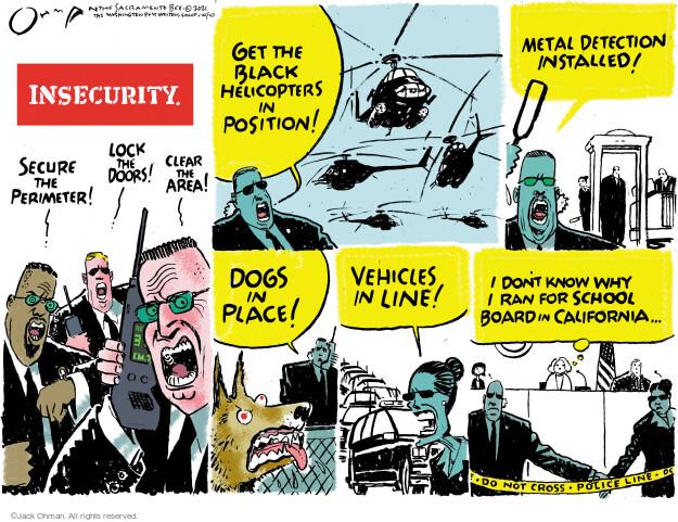 Jack Ohman  Jack Ohman's Editorial Cartoons 2021-10-10 Jack
