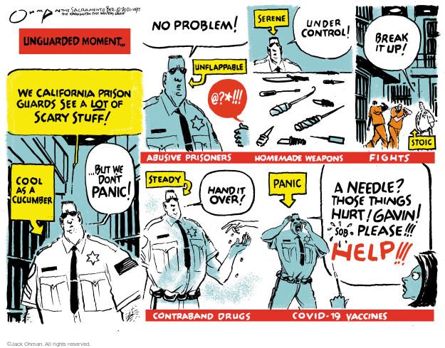 Jack Ohman  Jack Ohman's Editorial Cartoons 2021-10-17 outbreak