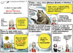 Cartoonist Jack Ohman  Jack Ohman's Editorial Cartoons 2018-03-13 military