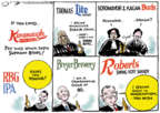 Cartoonist Jack Ohman  Jack Ohman's Editorial Cartoons 2018-10-12 Supreme Court
