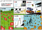 Cartoonist Jack Ohman  Jack Ohman's Editorial Cartoons 2018-11-15 game