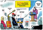 Cartoonist Jack Ohman  Jack Ohman's Editorial Cartoons 2018-11-22 administration